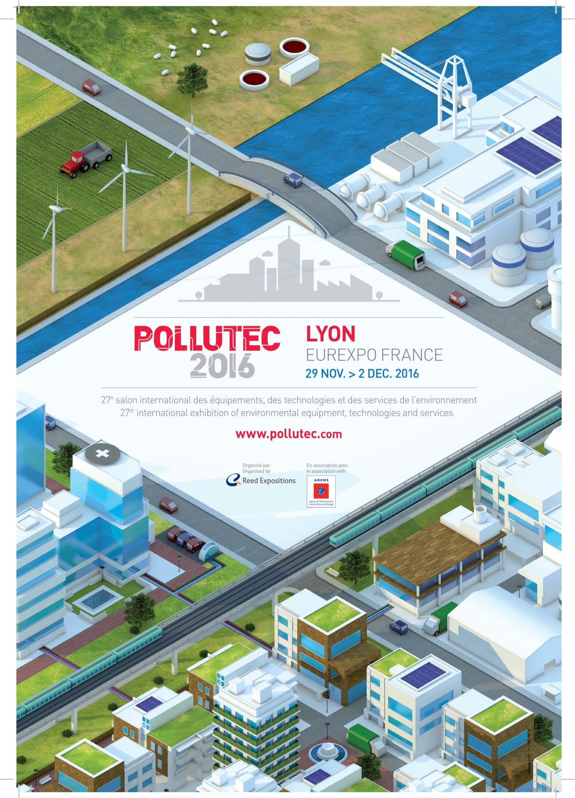 Microbia Environnement présente à Pollutec 2016